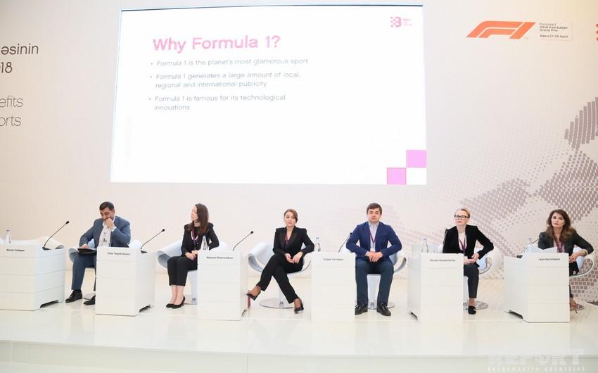 """Kloy Target-Adams: Bakı da """"Formula-1""""dən böyük fayda görüb"""