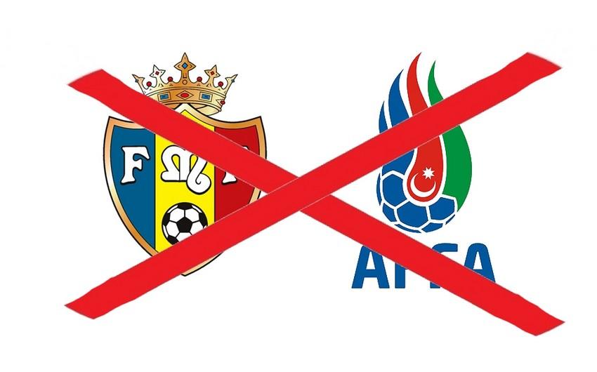Матч Молдова - Азербайджан не состоится