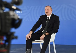 Prezident: Bu gün Ermənistanda faşizm ideologiyası üstünlük təşkil edir
