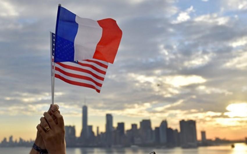 ABŞ Fransanı 2,4 milyard dollarlıq məhsullara rüsum tətbiq edəcəyi ilə hədələyib