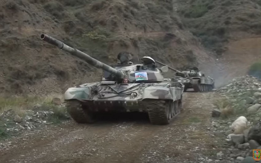 Azerbaijani Army liberates new strongholds