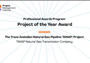 TANAP receives Project of the Year award
