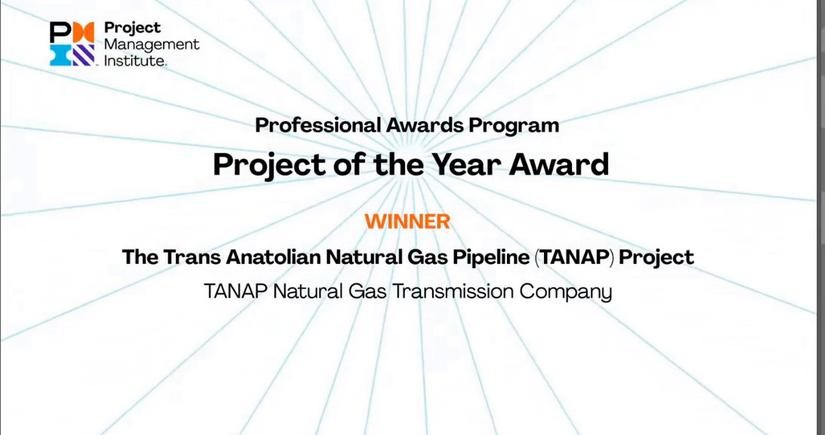 TANAP признан Проектом года