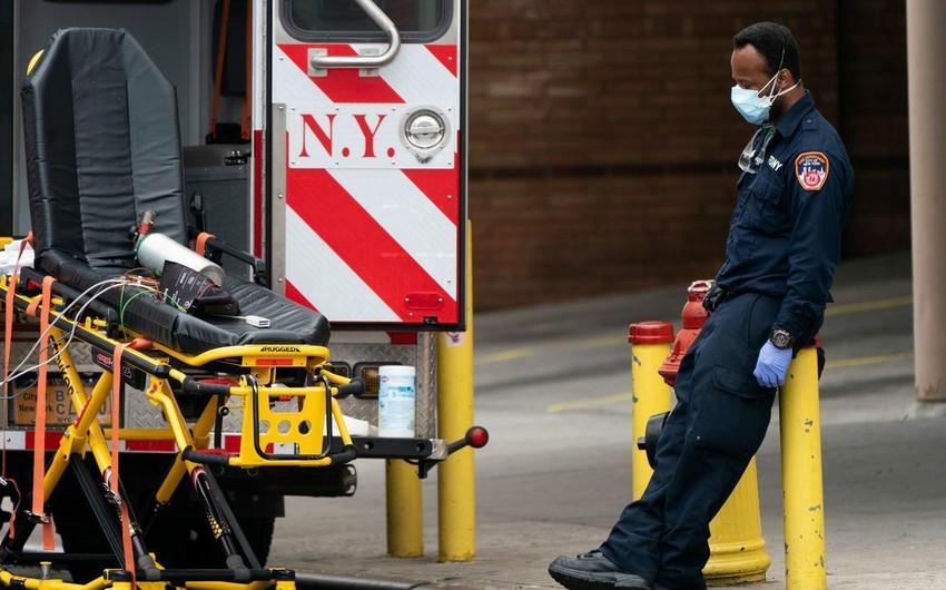 Nyu-Yorkda son sutkada COVID-19-dan 139 nəfər ölüb