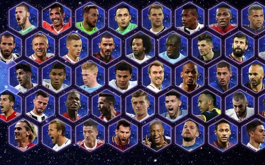 UEFA 2017-ci ilin komandasına namizəd futbolçuların siyahısını açıqlayıb