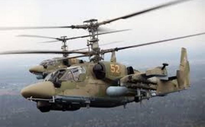 Türkiyənin hərbi helikopterləri Ermənistanın hava sərhədini pozub