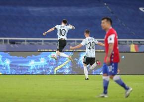 Messi Argentina millisinin rəsmi matçlarda qollar üzrə rekordçusu oldu