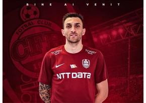 Покинувший Габалу футболист перешел в румынский клуб