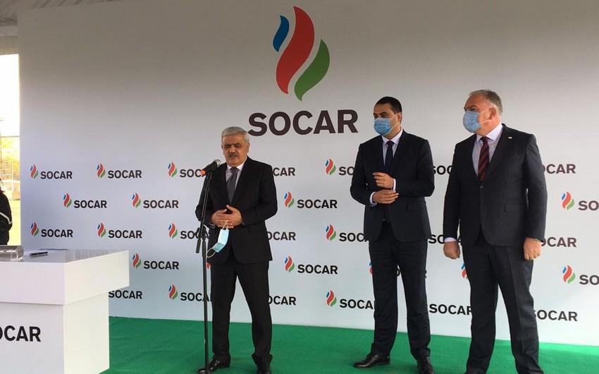 SOCAR to build sports complex in Georgian Kizilajlo
