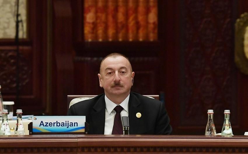 Prezident İlham Əliyev: Azərbaycanda möhkəm infrastruktur bazası yaradılıb