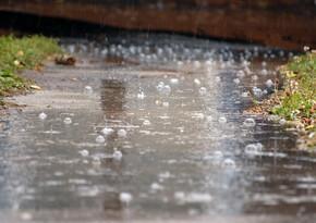 Heavy rain predicted tomorrow in Baku