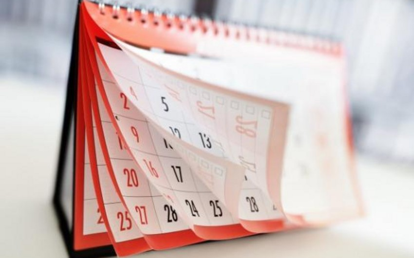 На следующей неделе в Азербайджане два дня будут нерабочими