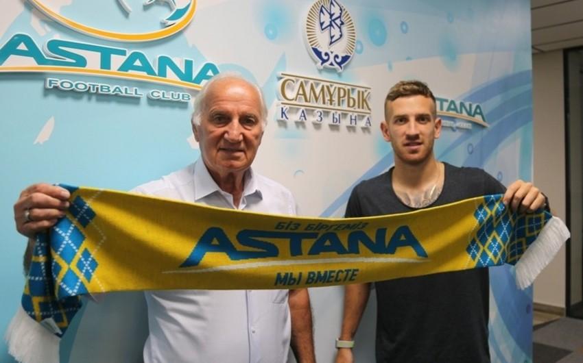 Казахстан осуществил трансфер бывшего футболиста Карабаха - ОФИЦИАЛЬНО