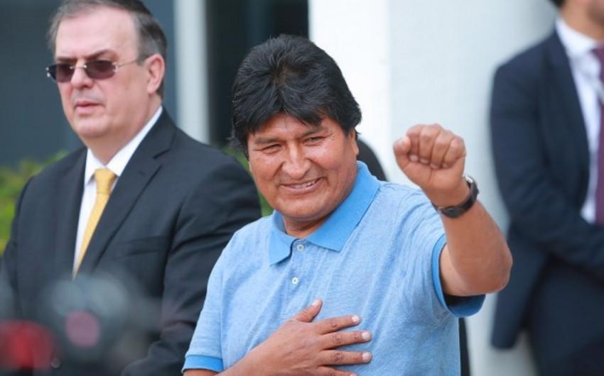 Moralesin seçkilərdə iştirakı qadağan ediləcək