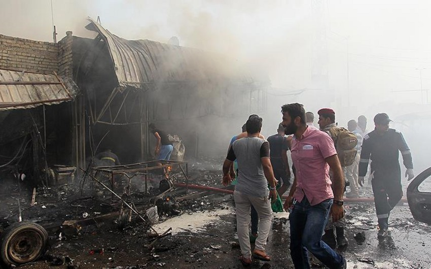 Multiple explosions in Iraq killed 7, injured 31