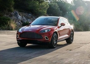 Aston Martin's first SUV helps push up sales by over 200%