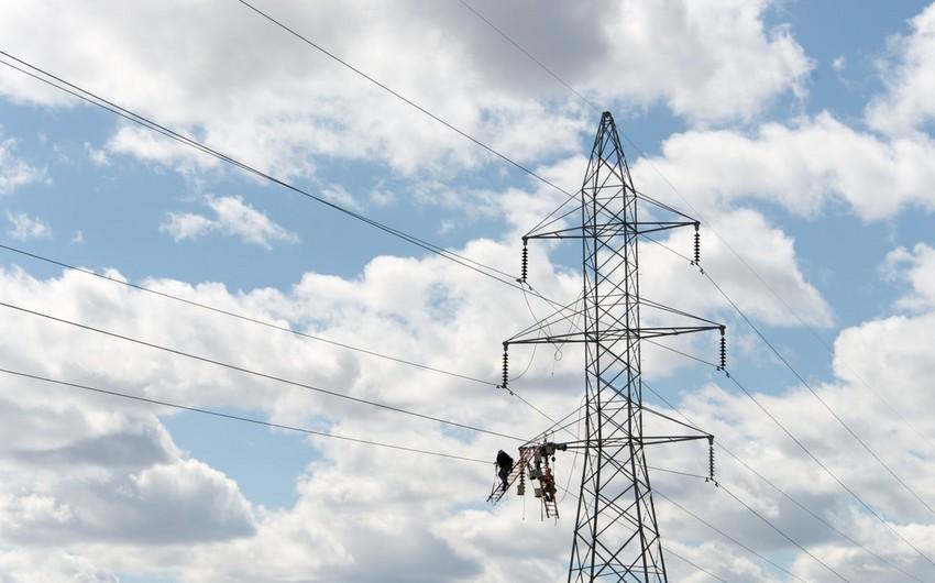 Azərbaycanın elektrik enerjisinin ixracından gəlirləri 18% azalıb