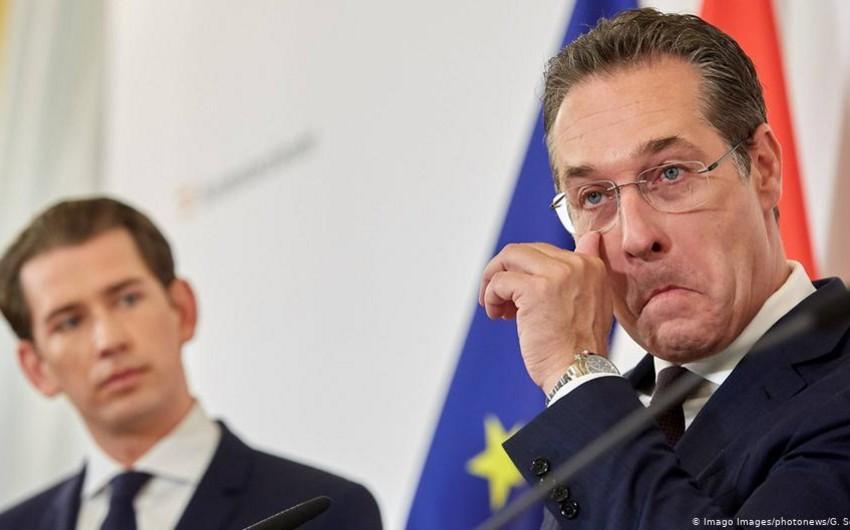 Avstriyanın vitse-kansleri gizli sövdələşmələr haqqında videonun yayılmasından sonra istefa verəcək