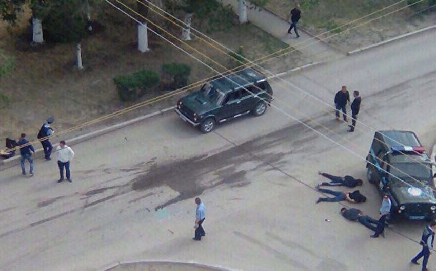 Qazaxıstan DİN: Aktobe şəhərində 6 terrorçunun axtarışı davam etdirilir