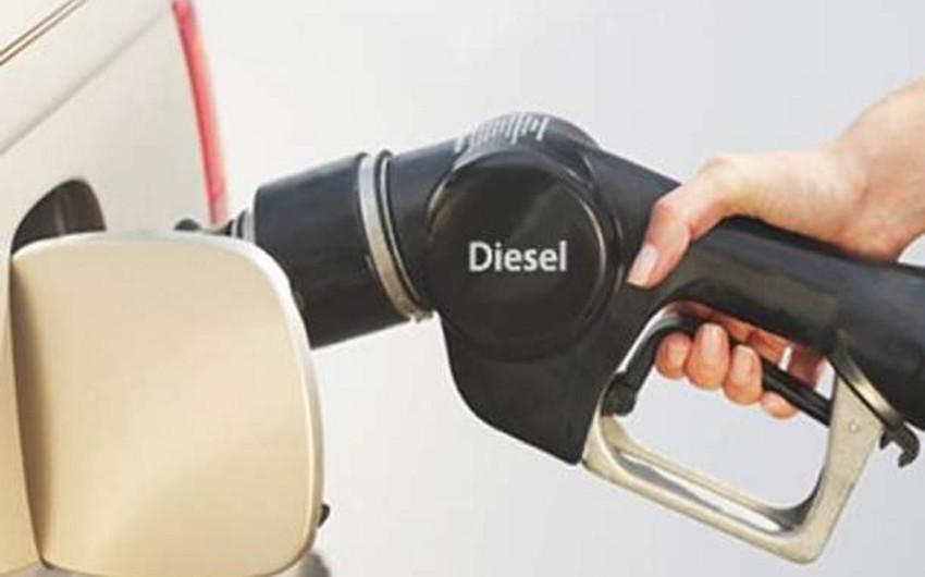 Азербайджан занимает 1-е место среди стран Европы и СНГ по дешевизне дизельного топлива