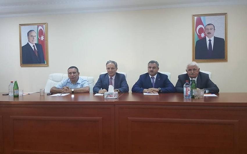 Tərtərdə Azərbaycan milli mətbuatının 141 illiyi ilə bağlı konfrans təşkil olunub