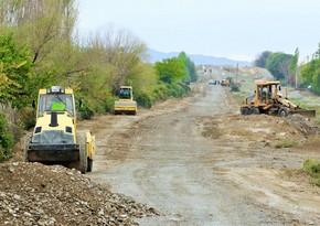 Началось восстановление ведущих в Суговушан и Талыш исторических дорог