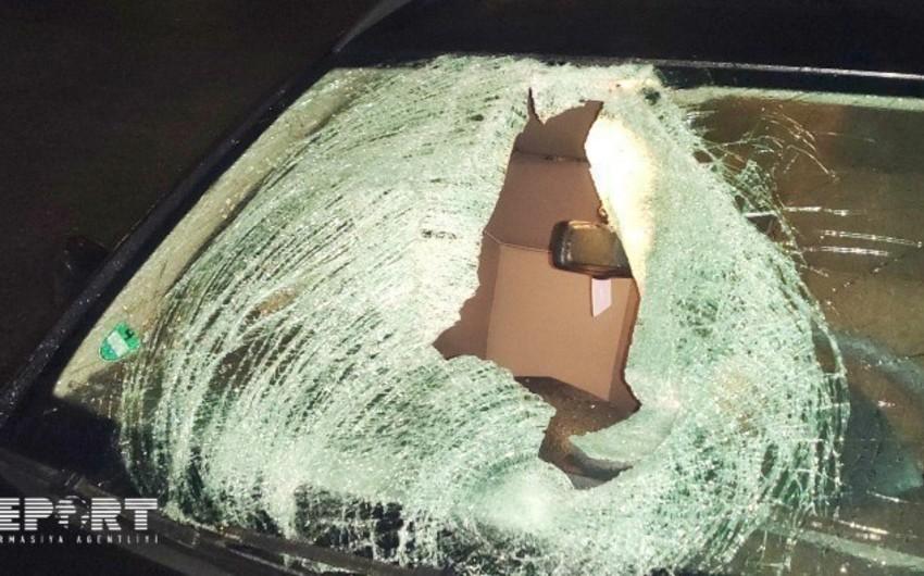 В Шамкире произошла авария