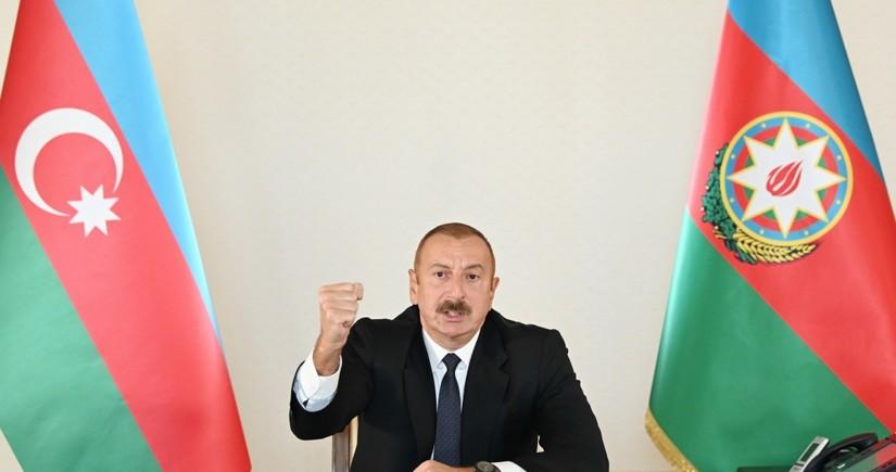 İlham Əliyev: Bu cinayətə görə Ermənistan cavab verəcək