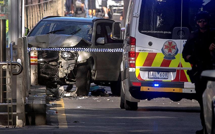Melburnda avtomobilin insanların üzərinə sürülməsi nəticəsində 9 əcnəbi vətəndaş xəsarət alıb