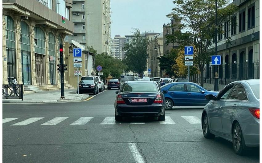 Reckless driver of embassy car in Baku