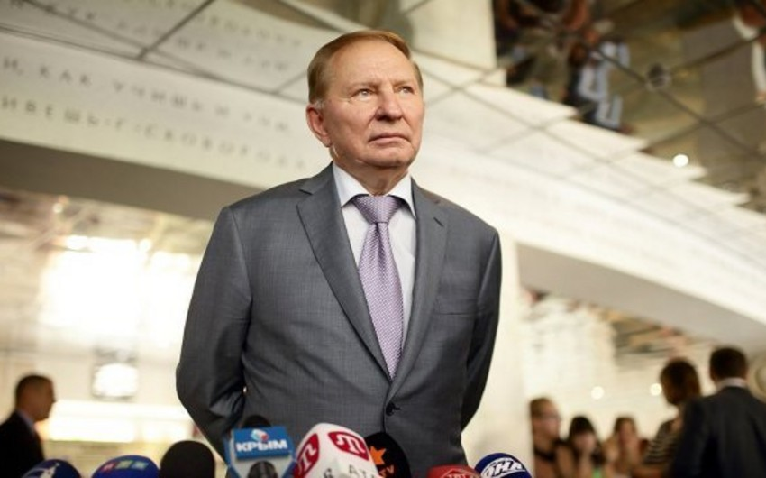 Leonid Kuçma Azərbaycan Prezidentini təbrik edib