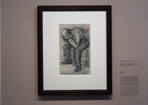 Rare drawing of Van Gogh going on display in Amsterdam museum