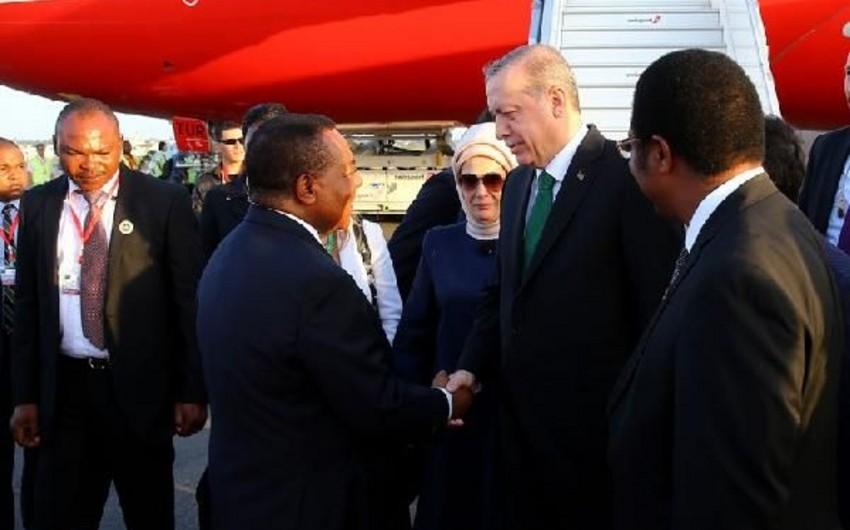 Türkiyə prezidentinin Afrikanın bir sıra ölkələrinə səfəri başlayıb