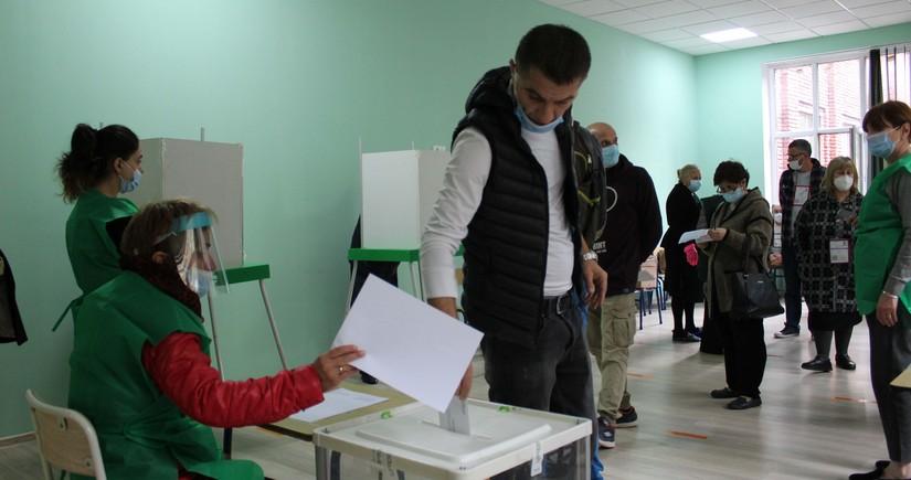 Gürcüstanda seçici fəallığı 8%-dən çoxdur