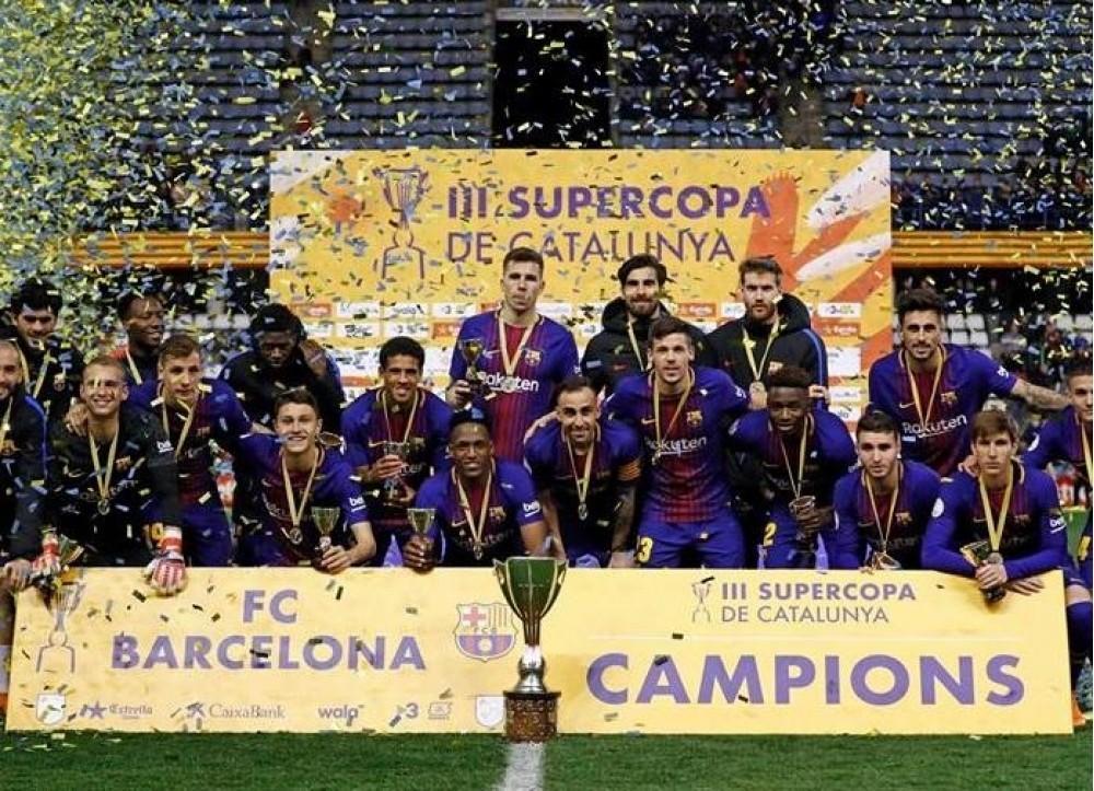 Барселона одержала волевую победу над Севильей в Суперкубке Испании