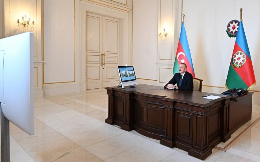 Prezident: Təcavüzkara adekvat cavab verməyə məcbur idik
