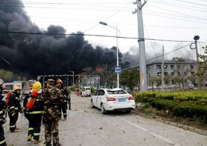 China: Explosion at repair plant kills 1, injures 3