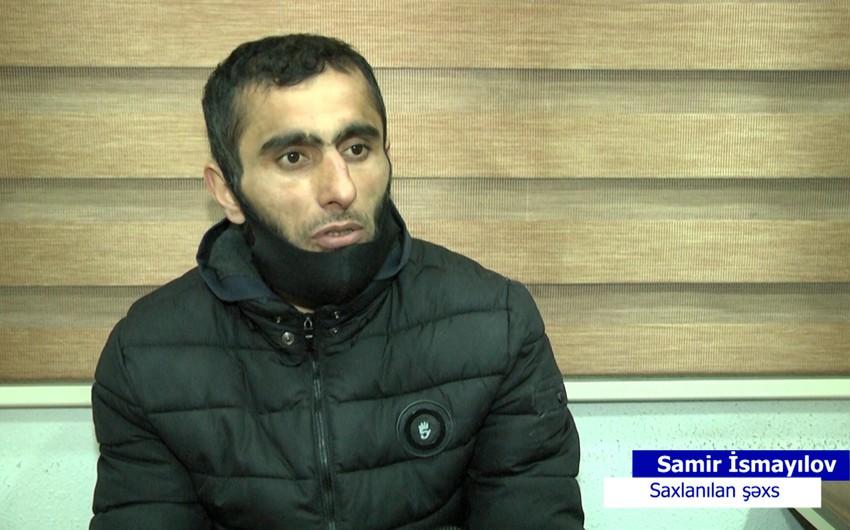 Gürcüstanda bir neçə cinayət törədənşəxs Bakıda saxlanılıb - VİDEO