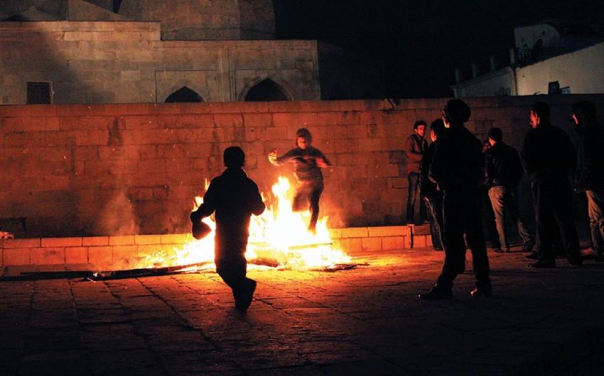 İlaxır çərşənbəsi axşamı Bakıda yandırılan tonqallarda 6 uşaq yanıq xəsarəti alıb
