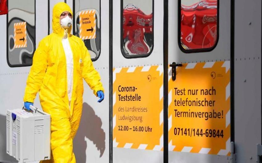 Almaniyada koronavirusun yayılması səngiyib