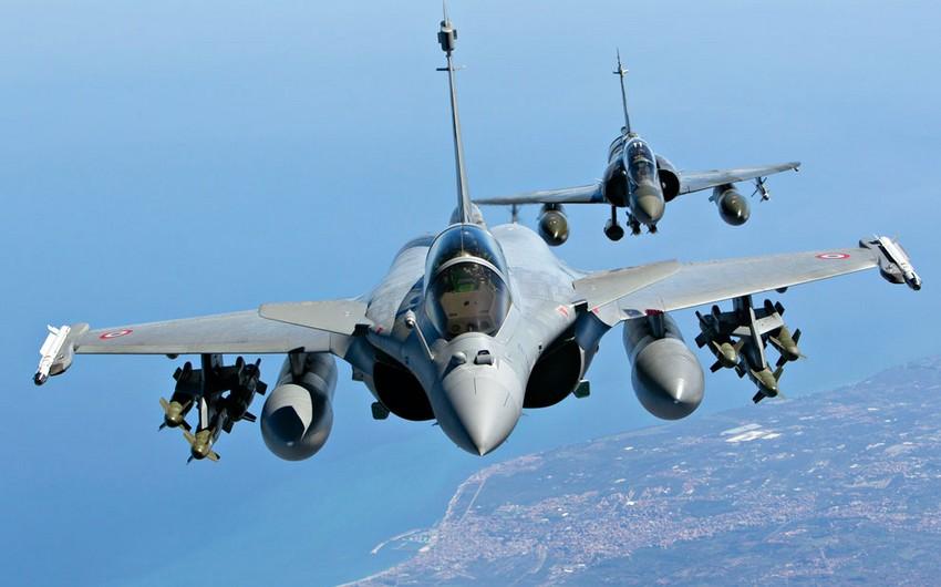 Франция использовала более 1,7 тысячи бомб и ракет в Ираке и Сирии