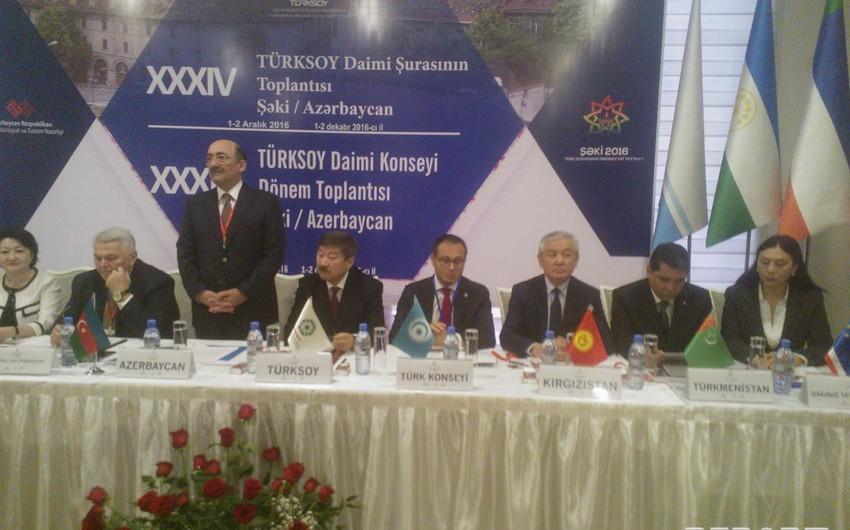 Şəkidə TÜRKSOY Daimi Şurasının 34-cü toplantısı başlayıb - FOTO