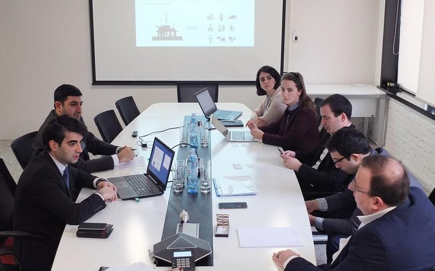 """""""Baku Business Factory"""" ilə Gürcüstanın İnnovasiya və Texnologiya Agentliyi arasında müzakirələr aparılıb"""