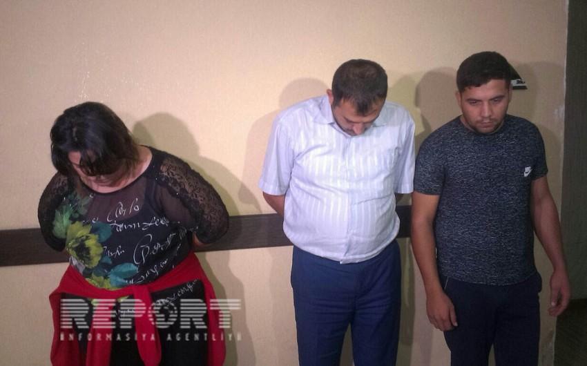 Lənkəranda dələduzluqla məşğul olan 3 jurnalist saxlanılıb - FOTO