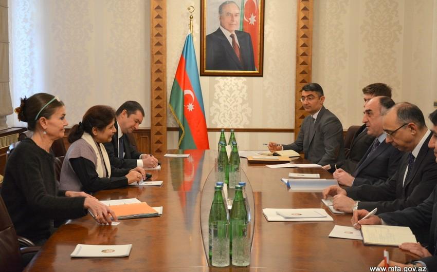 Эльмар Мамедъяров обсудил региональные вопросы с заместителем генсека ООН