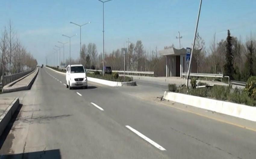 DİN: Yevlaxda avtobus qəzası zamanı yaralanan 2 nəfərin vəziyyəti orta-ağırdır