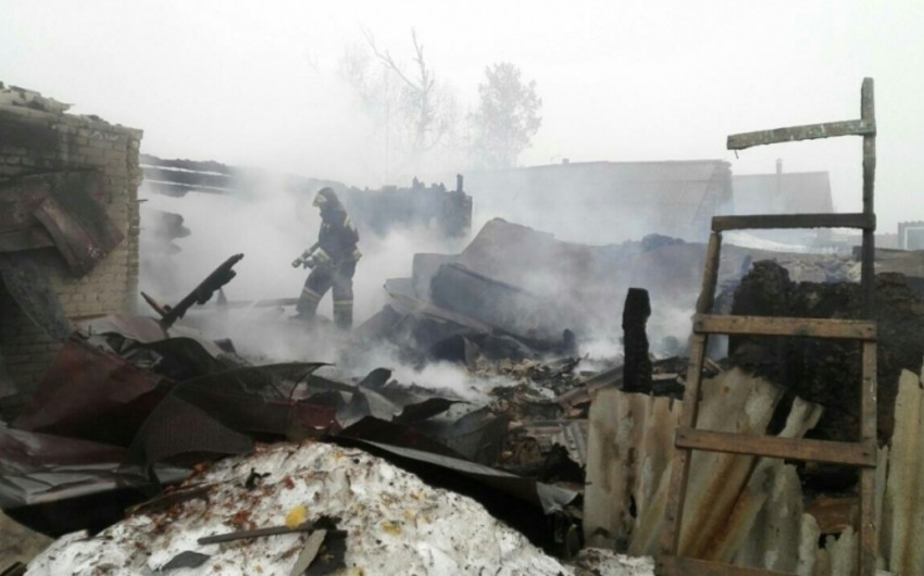4 people killed as a result of fire in Orenburg region, Russia