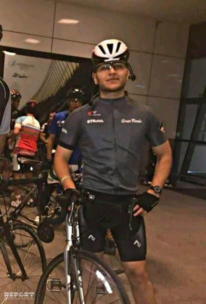 В Баку велосипедист столкнулся с автомобилем