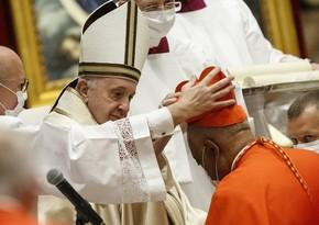 Папа Римский возвел в сан кардинала первого в истории афроамериканца