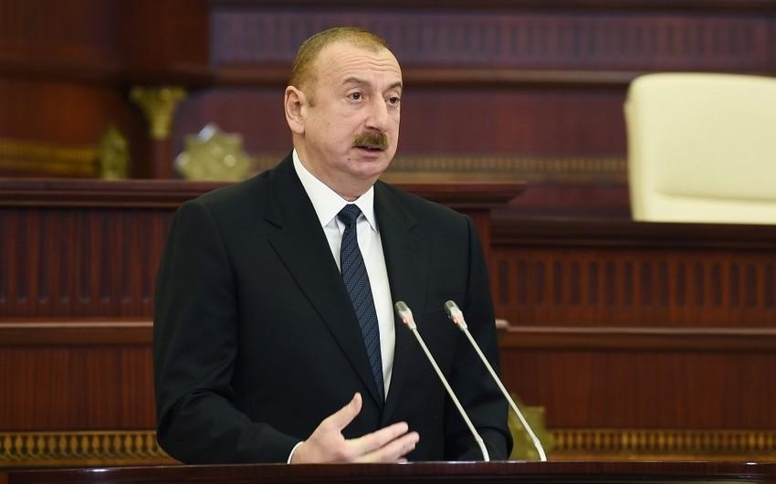 Prezidentin iştirakı ilə VI çağırış Milli Məclisin ilk plenar iclası keçirilib - YENİLƏNİB-6